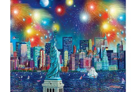 Diamond painting in 8 uitvoeringen | Ontspannende doe-het-zelf rage! #5 New York