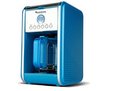 Turbotronic koffiezetapparaat | Genieten van warme verse koffie wanneer jij dat wilt Blauw