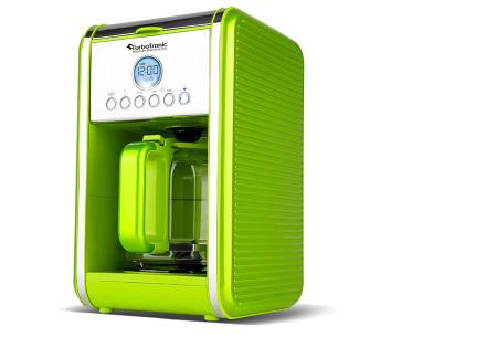 Turbotronic koffiezetapparaat | Genieten van warme verse koffie wanneer jij dat wilt Groen