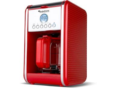 Turbotronic koffiezetapparaat | Genieten van warme verse koffie wanneer jij dat wilt Rood