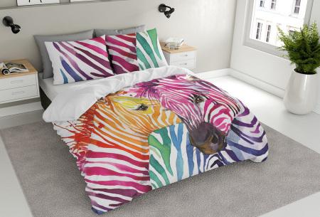 Nightlife dekbedovertrekken in 7 nieuwe dessins | Stijl & comfort in één zebra color