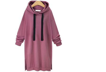 Comfy Long Sweater | Een heerlijk lange dames trui voor jong en oud Framboos