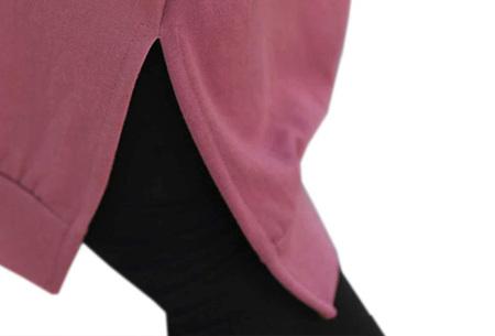 Comfy Long Sweater | Een heerlijk lange dames trui voor jong en oud