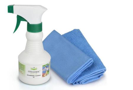 O'Daddy professionele Nano schoonmaakmiddelen | 100% water- en vuilafstotend X1