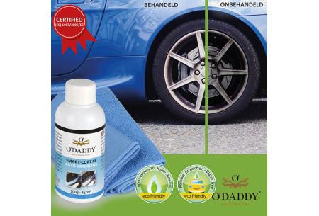 O'Daddy professionele Nano schoonmaakmiddelen | 100% water- en vuilafstotend
