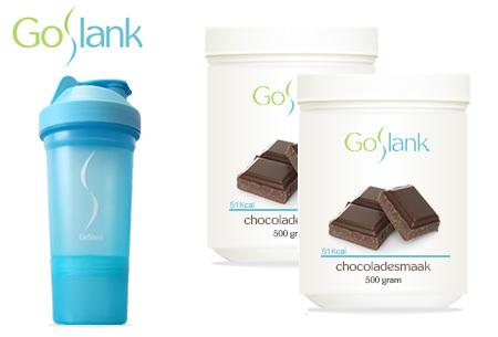 GoSlank afslankshakes voor 1 maand | Snel en op een gezonde manier afvallen Chocolade