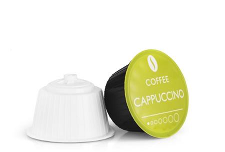 100 of 104 Magnani koffiecups voor Nespresso of Dolce Gusto | Maak thuis de lekkerste koffie! Cappuccino