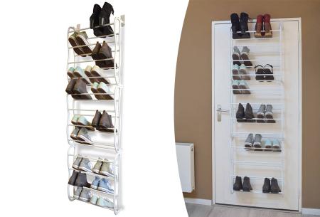 Deurhanger schoenenrek | Netjes, ruimtebesparend & overzichtelijk