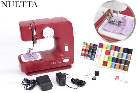 Nuetta naaimachine | Moderne, elektrische naaimachine met voetpedaal