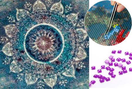Diamond painting mandala figuren nu extra voordelig in de aanbieding