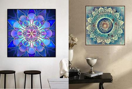 Diamond painting mandala figuren | Ontspannende trend op hobbygebied!