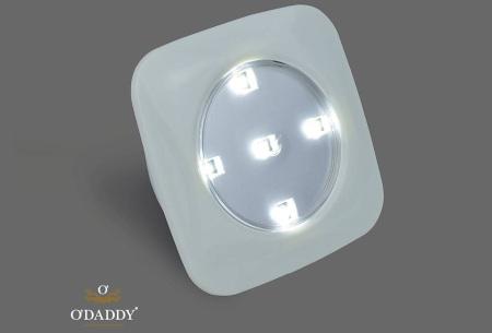 O'Daddy draadloze LED spots | Verlichting op moeilijk bereikbare plekken