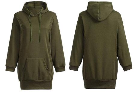 Oversized dames hoodie | Heerlijke warme en comfortabele dames trui