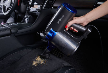 Hyundai cycloon steelstofzuiger | Lichtgewicht & zakloze stofzuiger en kruimeldief in één met krachtige zuigprestaties