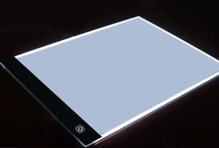 Diamond Painting accessoires | Alle handige tools voor de mooiste creaties LED Lichtplaat