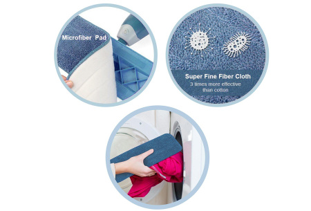 Benson Clean Flat Mop | Met zelfreinigend mechanisme