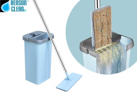 Benson Clean Flat mop nu super voordelig