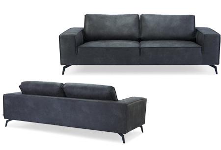 Feel Furniture Weston fauteuil of bank | Luxe design met comfortabel zitvlak Sofa - donkergrijs