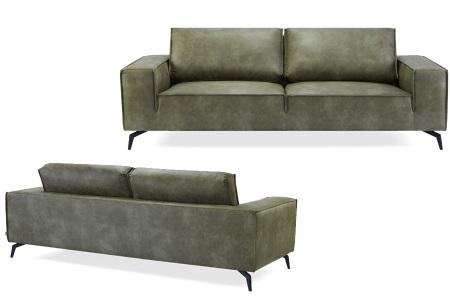 Feel Furniture Weston fauteuil of bank | Luxe design met comfortabel zitvlak Sofa - groen