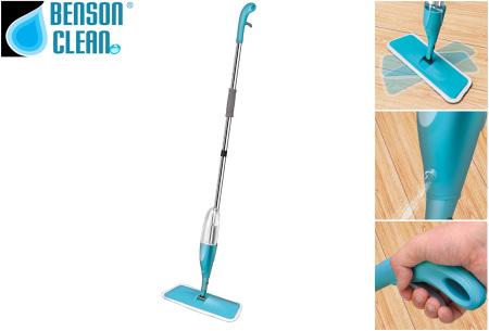 Benson Spray Mop | Efficiënt, makkelijk en snel