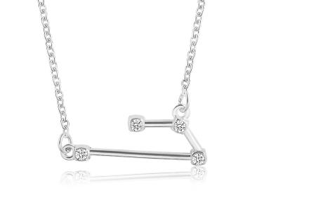 Sterrenbeeld ketting | Elegante ketting met persoonlijke touch ram - zilverkleurig
