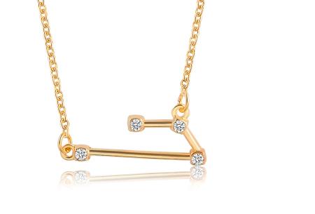 Sterrenbeeld ketting | Elegante ketting met persoonlijke touch ram - goudkleurig