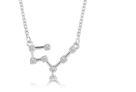Sterrenbeeld ketting | Elegante ketting met persoonlijke touch stier - zilverkleurig