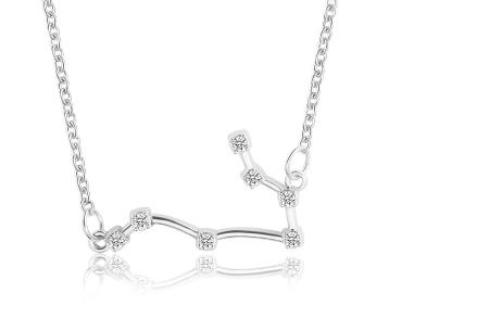 Sterrenbeeld ketting | Elegante ketting met persoonlijke touch tweelingen - zilverkleurig
