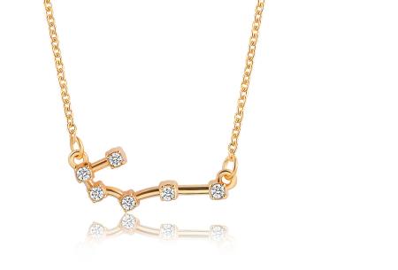 Sterrenbeeld ketting | Elegante ketting met persoonlijke touch kreeft - goudkleurig