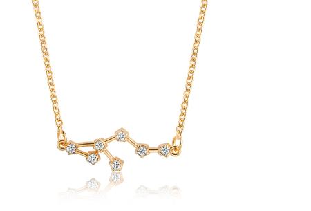 Sterrenbeeld ketting | Elegante ketting met persoonlijke touch leeuw - goudkleurig