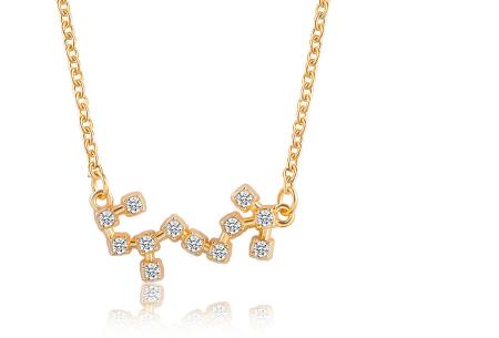 Sterrenbeeld ketting | Elegante ketting met persoonlijke touch schorpioen - goudkleurig