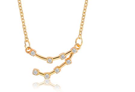 Sterrenbeeld ketting | Elegante ketting met persoonlijke touch steenbok - goudkleurig