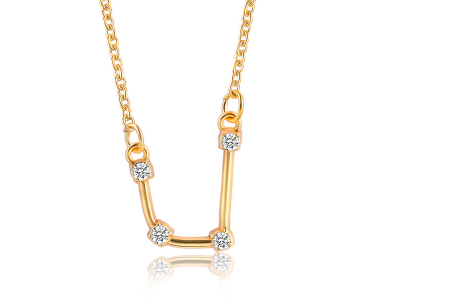 Sterrenbeeld ketting | Elegante ketting met persoonlijke touch waterman - goudkleurig