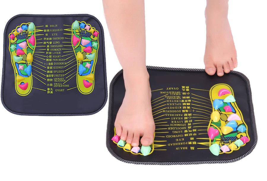 Reflexologie voetmassagemat in de aanbieding