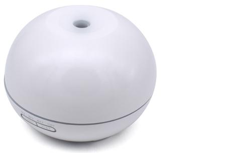 Aroma luchtbevochtiger XXL | Voorkom nare geurtjes en droge lucht in huis wit