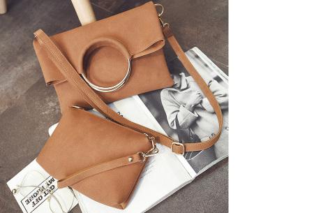 Vegan leather tas in 5 kleuren | Geen dierenleed! bruin