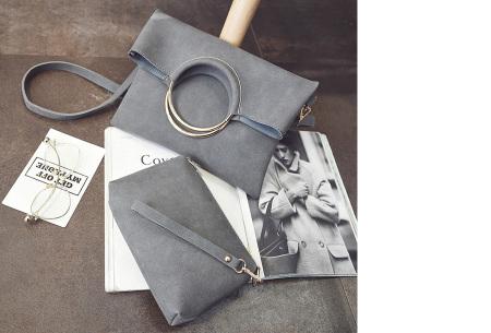 Vegan leather tas in 5 kleuren | Geen dierenleed! grijs