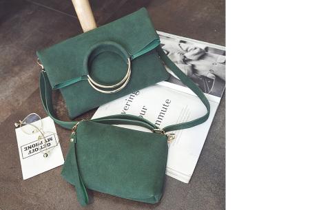 Vegan leather tas in 5 kleuren | Geen dierenleed! groen
