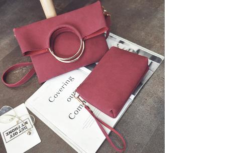 Vegan leather tas in 5 kleuren | Geen dierenleed! rood