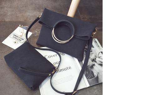 Vegan leather tas in 5 kleuren | Geen dierenleed! zwart