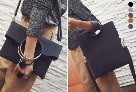 Vegan leather tas in 5 kleuren | Geen dierenleed!