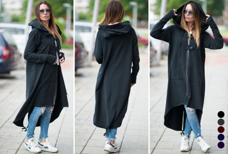 Oversized hoodie vest | Super comfy dames vest