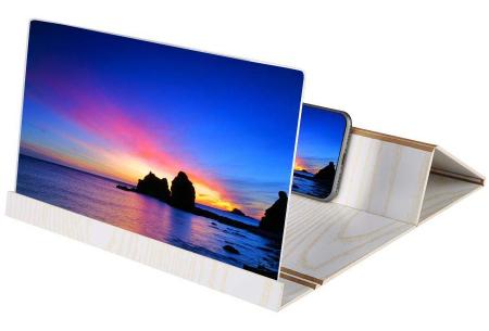 Smartphone schermvergroter | Vergroot je beeldscherm wel 4 tot 6 keer! wit
