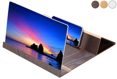 Smartphone schermvergroter | Vergroot je beeldscherm wel 4 tot 6 keer!
