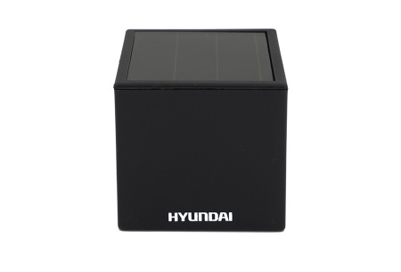 Hyundai LED solar cube tuinverlichting | Moderne kubusvormige buitenlampen op zonne-energie 1-pack XL