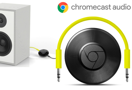 Google Chromecast Audio voor muziek streamen - nu met korting