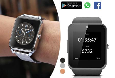 Smartwatch voor Android - nu in de aanbieding
