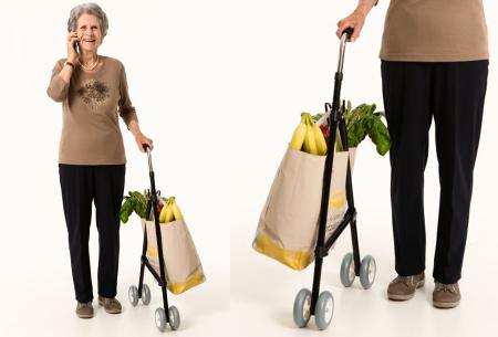 Shoppi boodschappentrolley | Dé ultieme lichtgewicht boodschappenhulp!