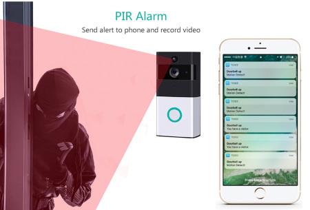 Smart WiFi deurbel | Draadloze deurbel met camera