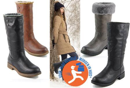 Outdoor laarzen voor dames | Heerlijk gevoerde winterlaarzen
